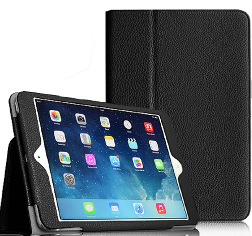Apple iPad Mini 5 2019 7.9 Inch Case Smart Leather Tablet Stand Black Case