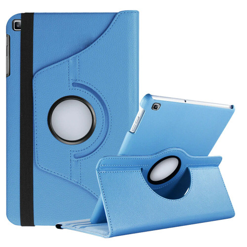 Samsung Galaxy Tab A 10.1 (2019) T510 T515 360 Rotating Stand  Sky Blue Case