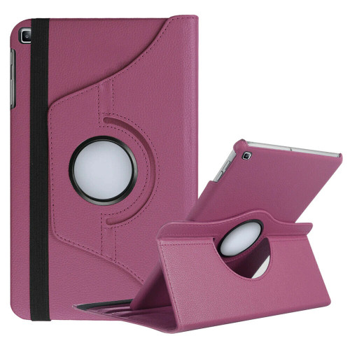Samsung Galaxy Tab A 10.1 (2019) T510 T515 360 Rotating Stand  Purple Case