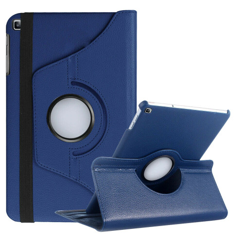Samsung Galaxy Tab A 10.1 (2019) T510 T515 360 Rotating Stand  Navy Blue Case