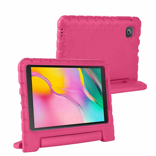 Samsung Galaxy Tab A 2019 10.1 T510 T515 Full Body Handle Stand Pink Case
