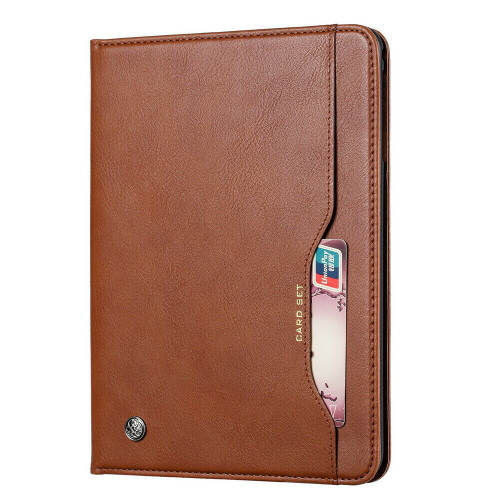 Samsung Galaxy Tab A 10.1 (2019) T510 T515 Wallet Brown Leather case
