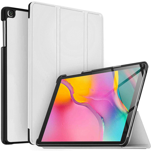 Samsung Galaxy Tab A 10.1 (2019) T510/T515 Magnetic Smart tri-fold White Case
