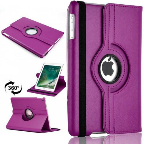 Apple iPad Pro 11'' 360° Rotating Stand Case Folding Leather Case Purple