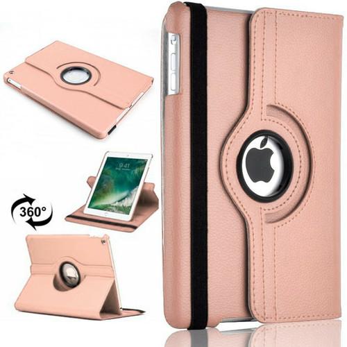 Apple iPad Pro 11 360 Rotating Stand Case Folding Leather Rose Gold Case