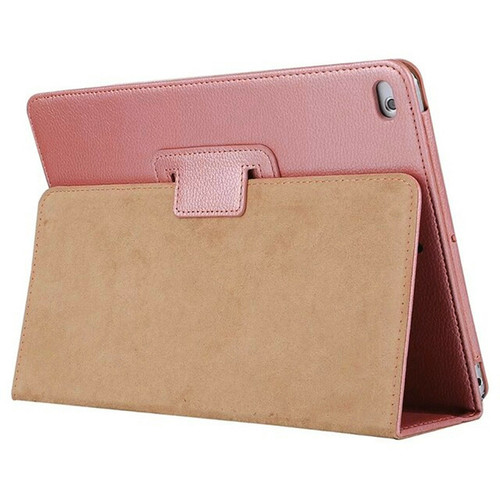 Apple iPad 10.2 (7th Generation) 2019 Rose Gold Magnetic PU Leather Stand Case