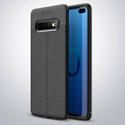 Samsung Galaxy S20  Hybrid Leather Rubber Soft Slim Case