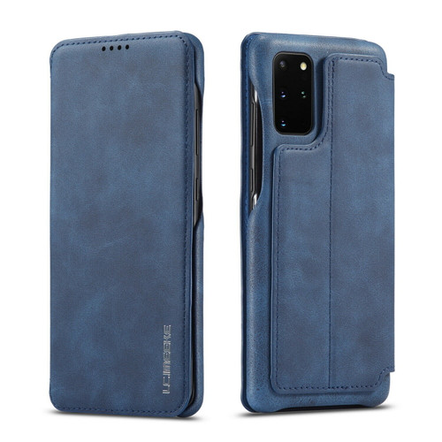 Samsung Galaxy S20 Blue  Ultra Flip  leather Wallet  Stand Phone Cover