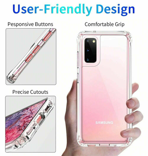 Samsung Galaxy S9 Shockproof  Protective Silicone Gel  back Case