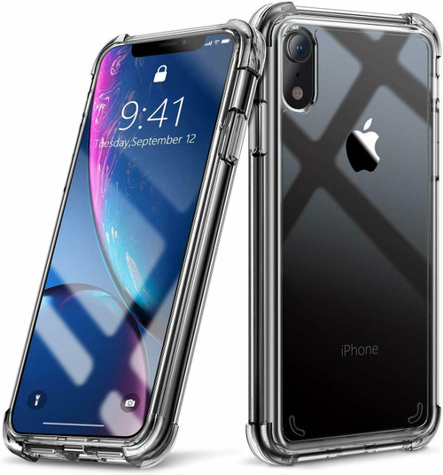 Apple iPhone  11 Bumper Shockproof Clear Silicone Protective Cover