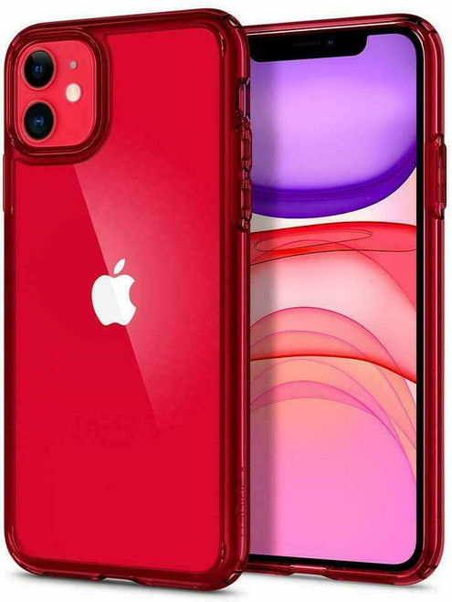 Spigen Apple iPhone  11  Red Ultra Hybrid Protection Series