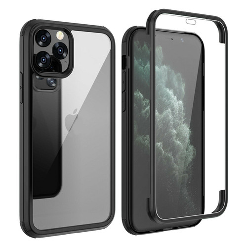 Apple iPhone  11 Black 360 Double Sided Tempered Glass Full Cover Case