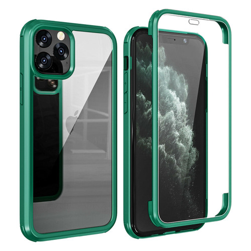 Apple iPhone  11 Green 360 Double Sided Tempered Glass Full Cover Case