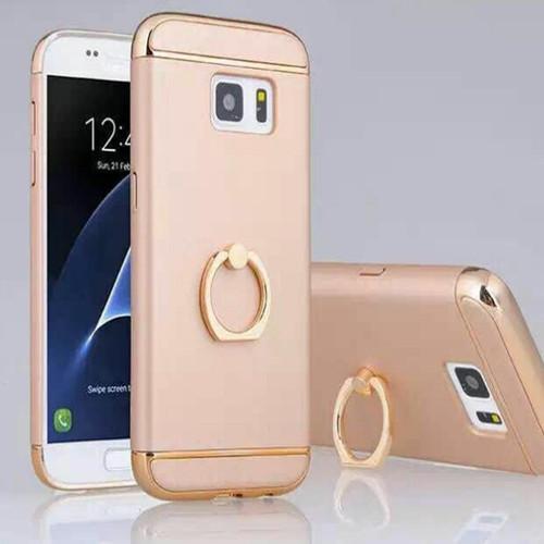 Samsung Galaxy Note 8 Hybrid thin phone  Ring Holder Gold Case