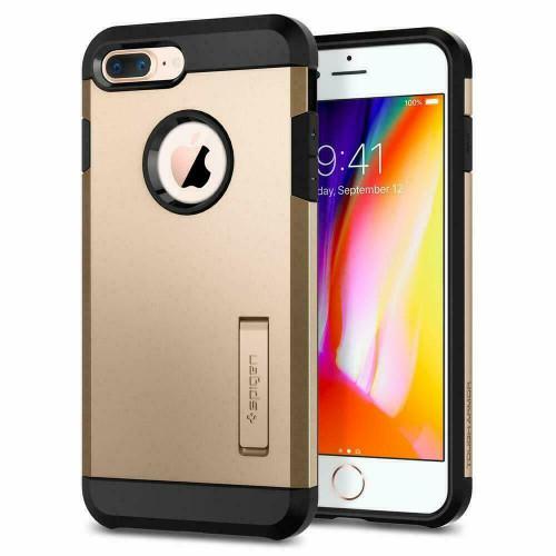iPhone 7 Plus Spigen Case Tough Armor Champagne  Gold