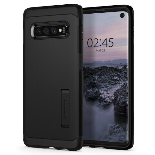 For Galaxy S10 Case, Spigen Tough Armor Extreme Shockproof Protective Cover