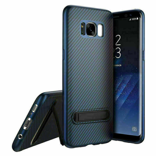 Samsung Galaxy Note 8 Blue Shockproof Stand Cover + Screen