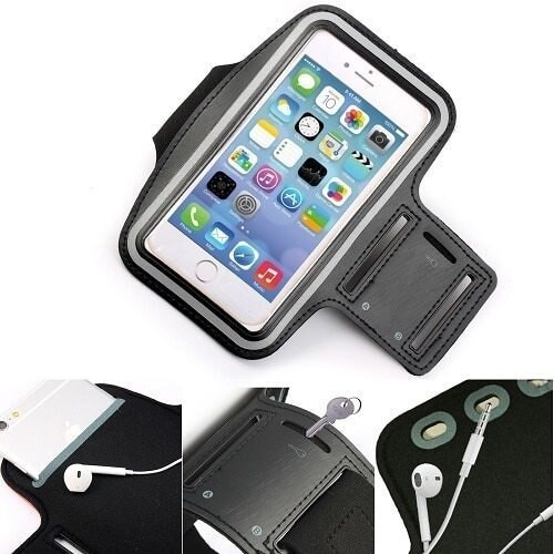 Apple iPhone 11 Pro Max Sports Gym Armband Jogging Cycling Running Arm Holder