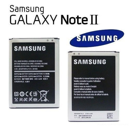 Samsung Note 2 3100mah   EB595675LU Replacement Battery