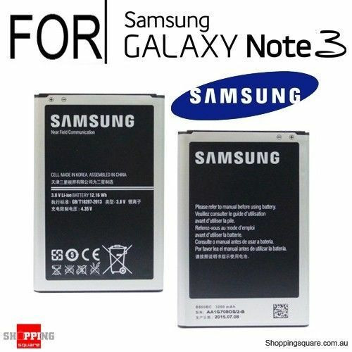 Samsung Note 3 3200mah   B800BE  Replacement Battery
