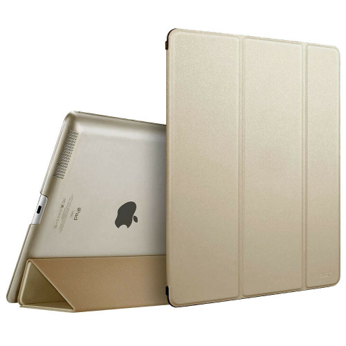 Apple iPad Pro 9.7 2017 2018  Magnetic Smart  Gold Stand case