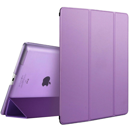 Apple iPad Pro 9.7 2017 2018 Magnetic Smart  Purple Stand case