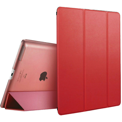 Apple iPad Pro 9.7 2017 2018 Magnetic Smart  Red Stand case