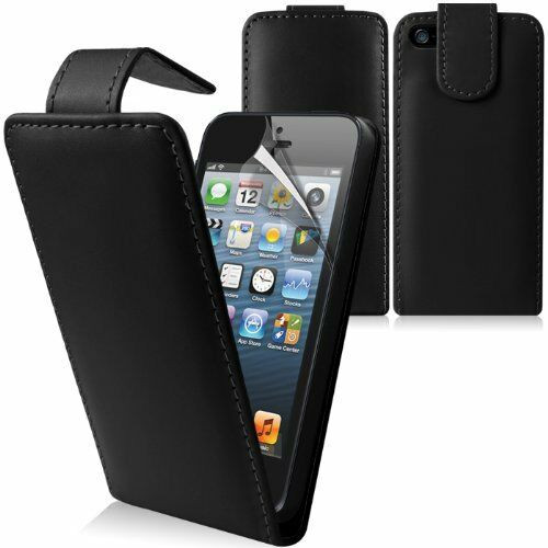 Flip Leather Case Cover For Apple iPhone 5c Free Screen Protector
