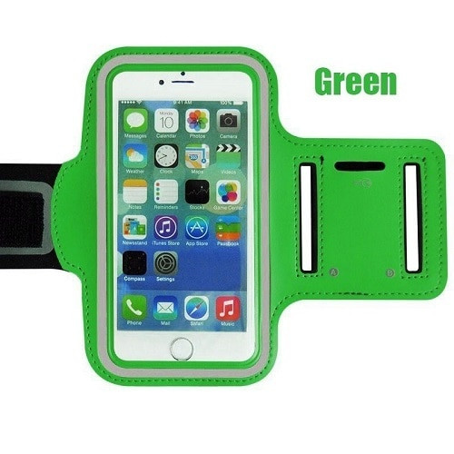 Samsung Galaxy S10 10e 10 Plus Green Gym Running Jogging Arm Band Sports  Case Holder Strap