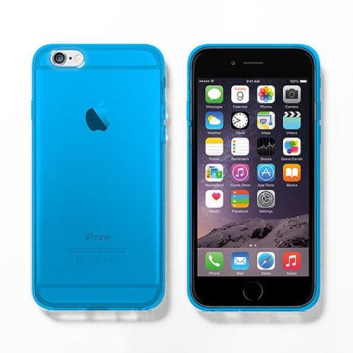 Apple iPhone 5c Blue Ultra Thin Slim TPU Gel Skin Cover Case Pouch