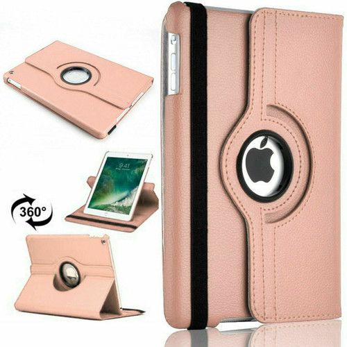 Apple iPad Pro 12.9 2015/2017 (1st/2nd Generation) Rose Gold Luxury Magnetic Flip Smart Stand Leather Case