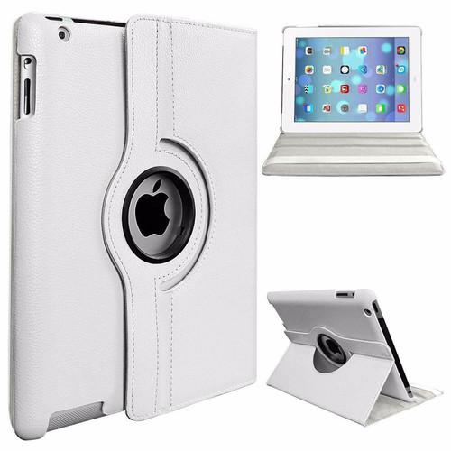 Apple iPad Pro 12.9 2015/2017 (1st/2nd Generation) White Luxury Magnetic Flip Smart Stand Leather Case
