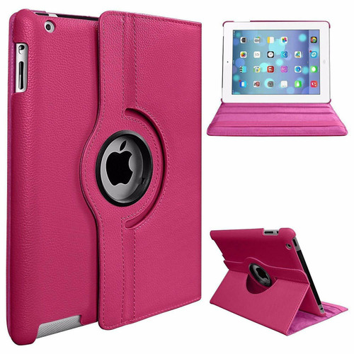Apple iPad Pro 12.9 2015/2017 (1st/2nd Generation) Pink Luxury Magnetic Flip Smart Stand Leather Case