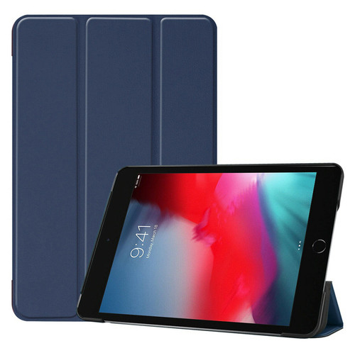 Navy Smart Magnetic Flip Leather Stand Case Cover Apple iPad Pro 12.9 2015 2017