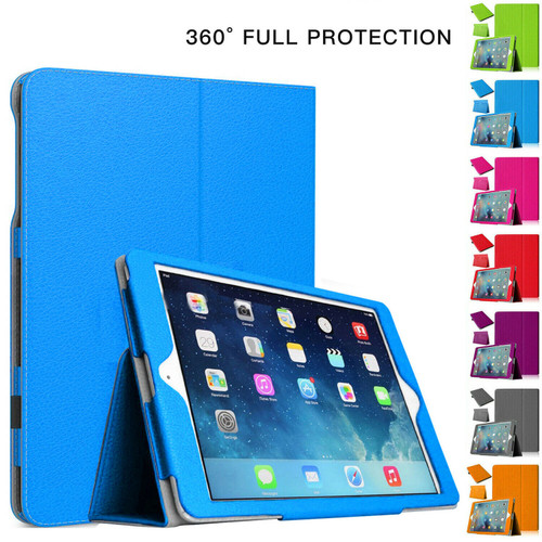 iPad Air 2(2014) Magnetic Stand Flip Blue Cover