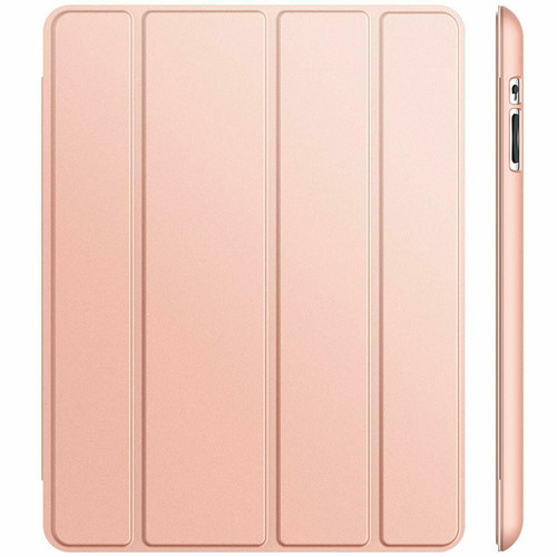 iPad Air 2(2014 Rose Gold Slim Smart Magnetic Stand Screen Back Cover