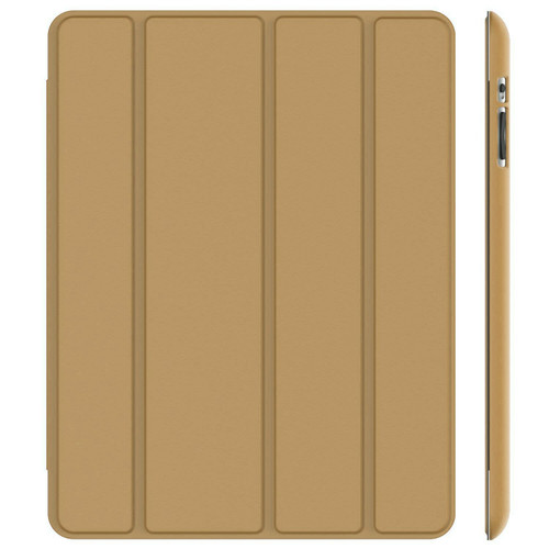 iPad Air 2(2014  Gold Slim Smart Magnetic Stand Screen Back Cover