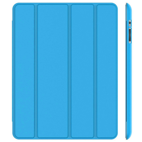 iPad Air 2(2014  Blue Slim Smart Magnetic Stand Screen Back Cover