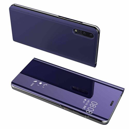 Huawei P30 Purple Mirror View Flip Case Cover