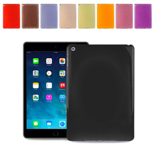 Apple iPad Pro 10.5(2017)  Shockproof Black Soft Silicone Rubber Case