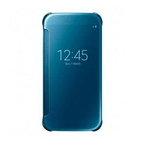 Samsung Galaxy S6 Edge Mirror View Navy Blue case