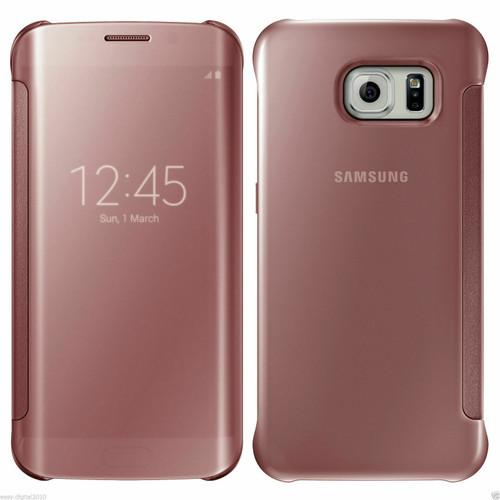 Samsung Galaxy S6 Edge Mirror View Rose Gold case