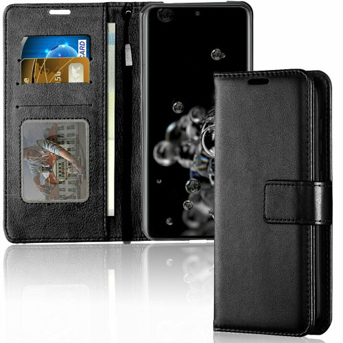 Samsung Galaxy S20  Leather Wallet Stand case