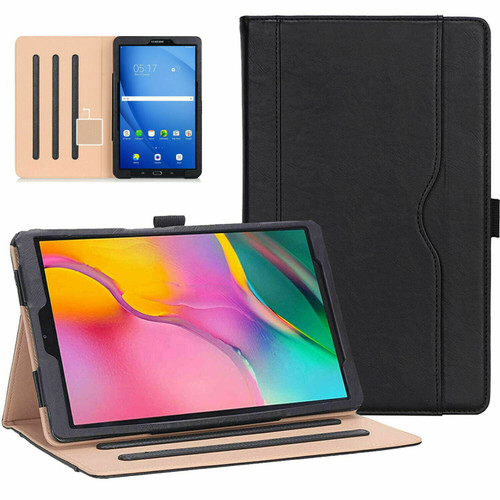 Samsung Galaxy Tab A 10.1 (2019) T510/T515 Leather Tablet Stand Folio Cover