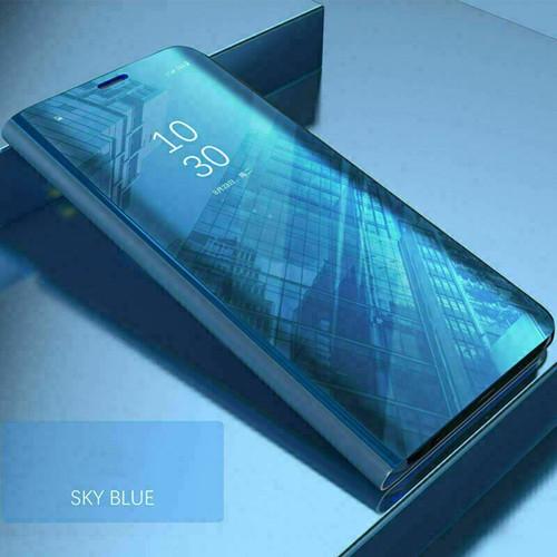 Samsung Galaxy S20 Plus BlueMirror Flip Stand Phone Case
