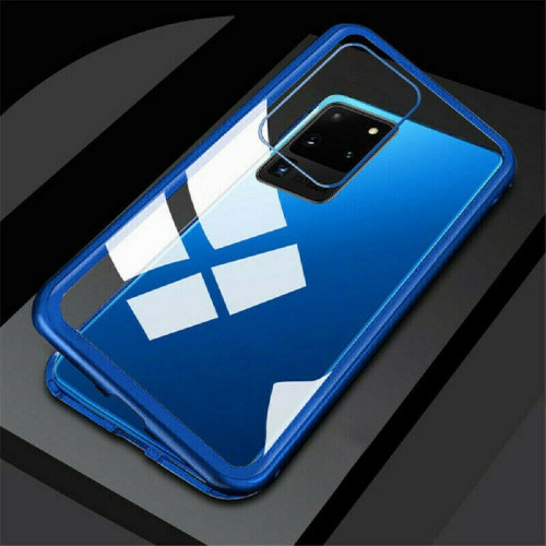 Samsung Galaxy S20  Plus Blue Ultra Full Body Magnetic Absorption Glass back case
