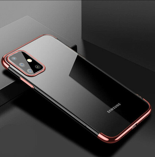 Samsung Galaxy S20  Plus Rose Gold Silicone Gel Shockproof Back Cover