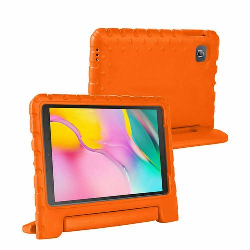 Samsung Galaxy Tab A 2019 10.1 T510 T515 Full Body Handle Stand Orange Case