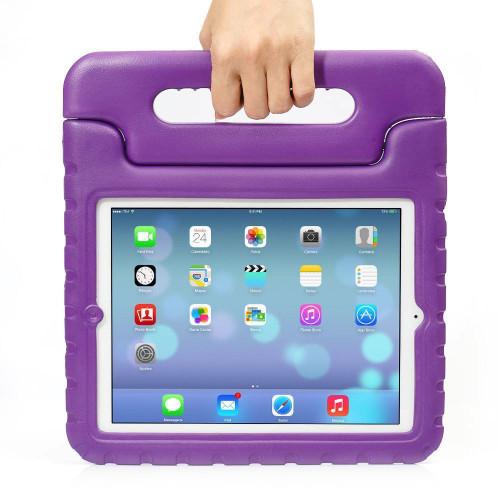 Apple iPad Mini 1 2 3 Kids Purple Shockproof  EVA Foam Stand Case