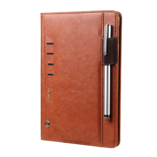 Apple iPad Air 10.2 7th Generation 2019 Magnetic Smart Stand Brown Case